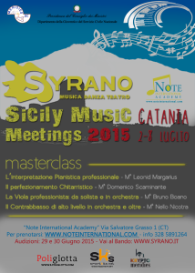 locandina Sicily Music Meetings